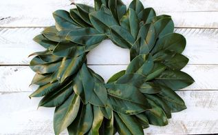 How To Preserve Magnolia Leaves Amp Diy Magnolia Wreath