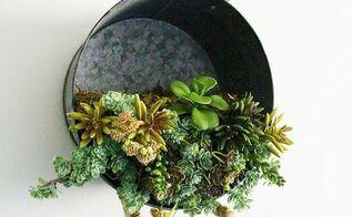 Topsy Turvy Galvanized Bucket Planter Hometalk