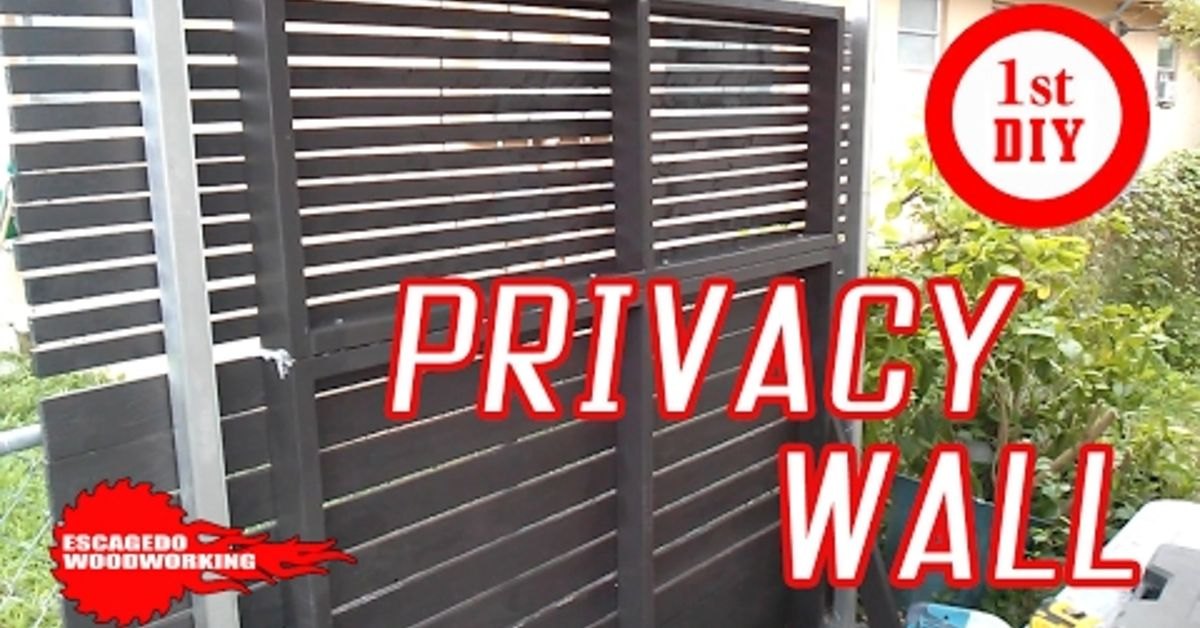 He Wanted Privacy At Home So He Built A Wall Hometalk