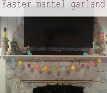 get your mantel ready for easter with this easy dollar store garland, animals, appliance repair, appliances, architecture, basement ideas, bathroom ideas, bedroom ideas, bug extermination, bug repellent, chalk paint, chalkboard paint, christmas decorations, cleaning tips, closet, composting, concrete masonry, concrete countertops, concrete creations, concrete repair, container gardening, cosmetic changes, countertops, craft rooms, crafts, curb appeal, decks, decoupage, dining room ideas, diy, doors, earthworms, easter decorations, electrical, entertainment rec rooms, exterior home painting, fabric cleaning, fences, fireplace cleaning, fireplace makeovers, fireplaces mantels, fixing windows, flooring, flowers, foyer, furniture cleaning, furniture id, furniture refurbishing, furniture repair, garage doors, garages, gardening, gardening pests, gardening tools, go green, halloween decorations, hardwood floors, hibiscus, home decor, home decor cleaning, home decor dilemma, home decor id, home improvement, home maintenance repairs, home office, home security, homesteading, house cleaning, how to, hvac, hydrangea, indoor pests, interior home painting, kitchen backsplash, kitchen cabinets, kitchen design, kitchen island, landscape, large home improvement projects, laundry rooms, lawn care, lighting, living room ideas, major home repair, mantels, mason jars, minor home repair, organizing, outdoor furniture, outdoor living, outdoors cleaning, paint colors, painted furniture, painted furniture finishes, painting, painting cabinets, painting concrete, painting over finishes, painting upholstered furniture, painting wood furniture, pallet, patio, patriotic decor ideas, perennial, pest control, pet stain cleaning, pets, pets animals, plant care, plant id, plumbing, ponds water features, pool designs, porches, products, raised garden beds, real estate, removing paint from furniture, repurpose building materials, repurpose furniture, repurpose household items, repurpose unique piec