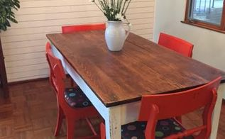 Painting Staining A Kitchen Table Hometalk