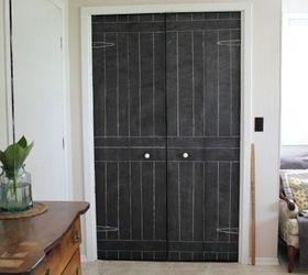 Diy Closet Door Update Turn Plain Doors Into A Giant Chalkboard, Animals,  Appliance Repair CreekLineHouse .
