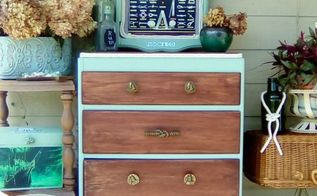 nautical theme small dresser fusion co challange