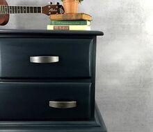 how to paint a masculine blue dresser
