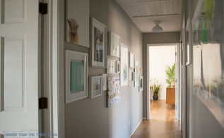 dated hallway to travel gallery themed space