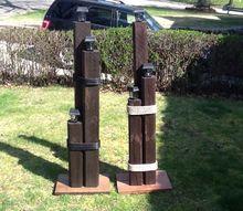 nautical lamp post