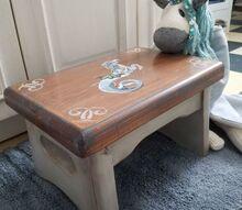 fantasy footstool little tyke stool makeover