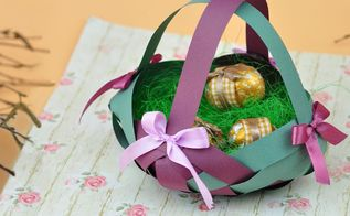 how to make a decorative paper basket