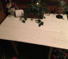 q i have an old wooden farm table that has too many layers of paint to n