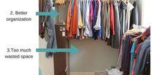 diy master bedroom closet makeover on a budget