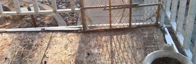 q how do i seal and repair a composite wood porch