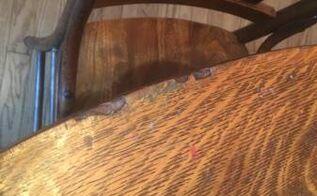 q repairing veneer table