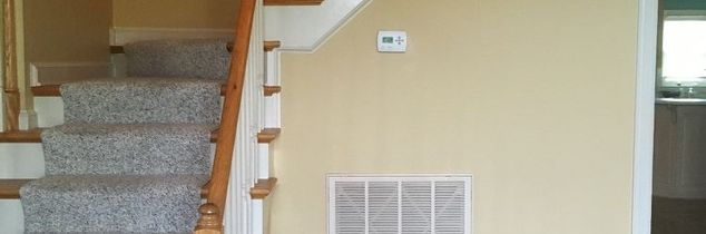 q what can i do to disguise the return air vent in my foyer