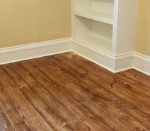 how to install beautiful farmhouse floors using unfinished lumber