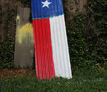 texas independence day porch decor