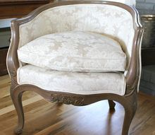 how fabric paint transformed my chairs