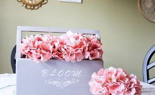 how to turn an old toolbox into a lovely centerpiece