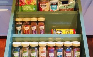 spice drawer makeover