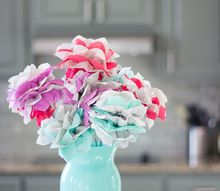 turn old encyclopedia pages into beautiful flowers