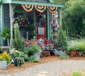 Garden Sheds Madison Wi Hang A Collection Of Watering Cans To Decorate A Garden  Shed