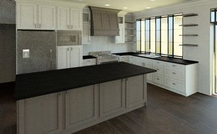 3d renderings the kitchen