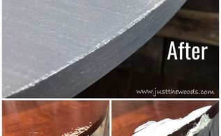 dog ate your furniture how to repair paint a chewed pedestal table