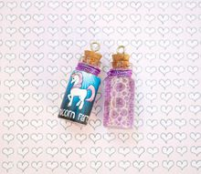 unicorn farts and other fun bubble bottle labels with free printables
