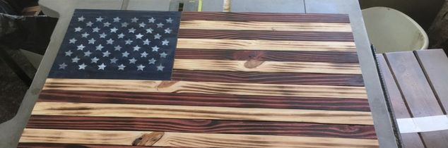 q american flag no such thing as scrap wood