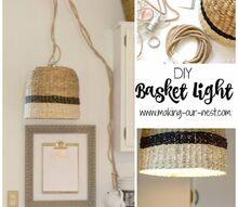 diy basket light