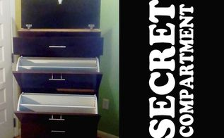 woman s shoe cabinet with a secret, Women s Shoe Cabinet with Secret Compartment