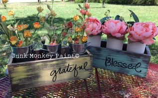 beautiful mason jar box centerpieces