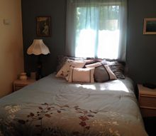 bedroom redo in the middle of kitchen cabinet painting