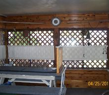 porch screen protection from dogs