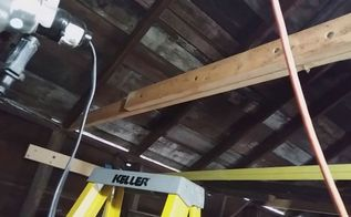 fixing ceiling joists diy