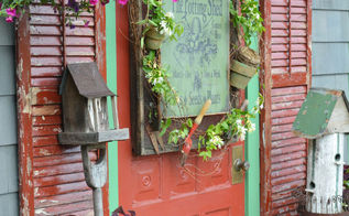 potting shed garden shop sign