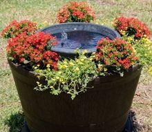 diy blooming fountain