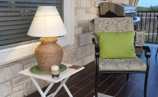diy outdoor solar rope lamp