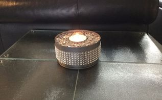 upcycled can to candle holder 3 lighting options
