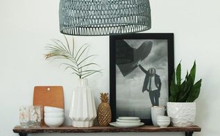 how to style open shelving