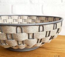 diy rustic farmhouse bowls