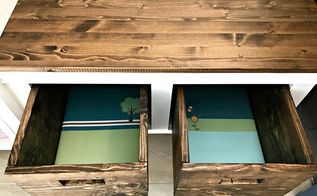 see how custom diy wood bins can be easy and so affordable