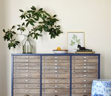 easy peasy diy faux flat file cabinet