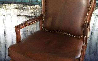 reluv leather chair