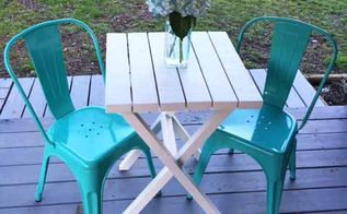 15 bistro table building plans