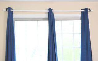 cheapest diy curtain rod using pvc pipe