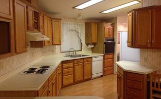 manufactured home kitchen makeover, Photo from before move in day