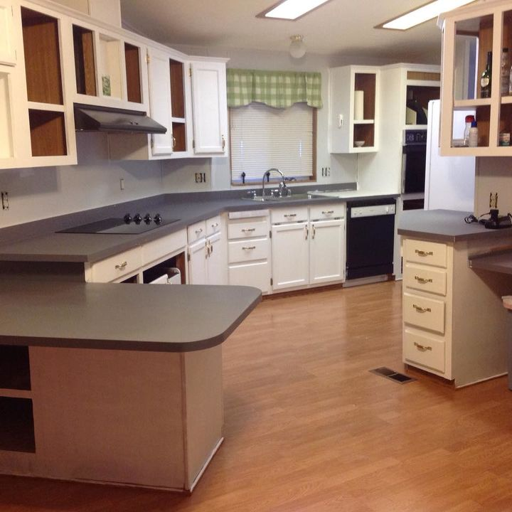 Manufactured Home Kitchen Makeover