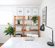 diy office reveal with shiplap