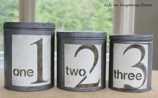 diy farmhouse canister set