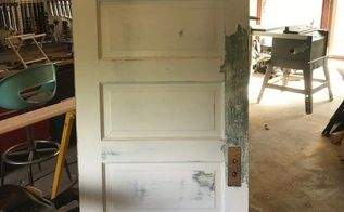 old door to fabulous headboard, The perfect door